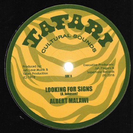 Albert Malawi - Looking For Signs / Brigadier Jerry - Conscious Time  (Tafari) UK 12